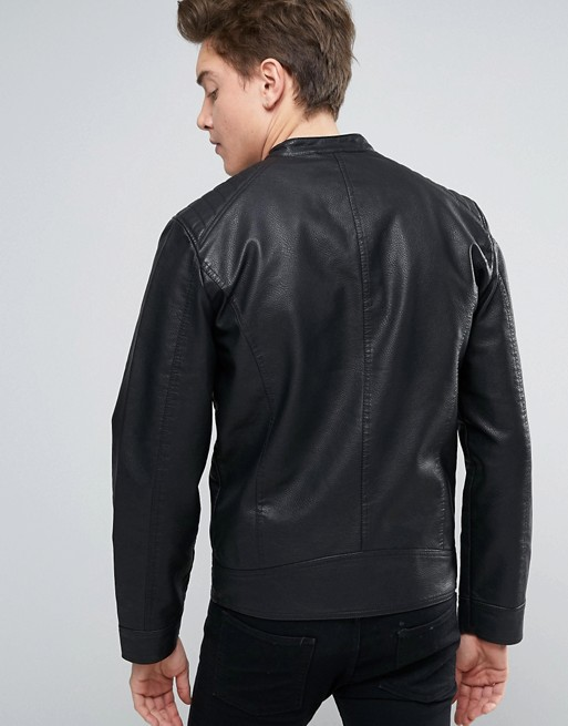 Atlanta Men Black Leather Motorcycle Jacket (2)
