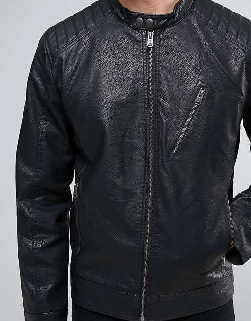 Atlanta Men Black Leather Motorcycle Jacket (3)
