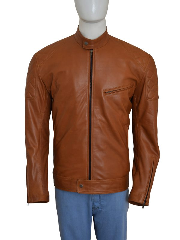 Brown-Biker-Men-Jacket