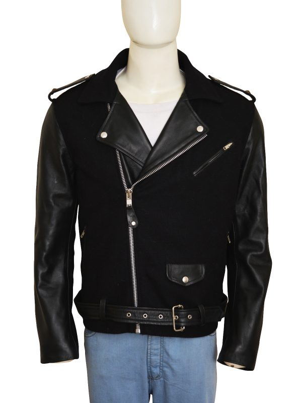 Charming-Wool-And-Leather-Black-Jacket
