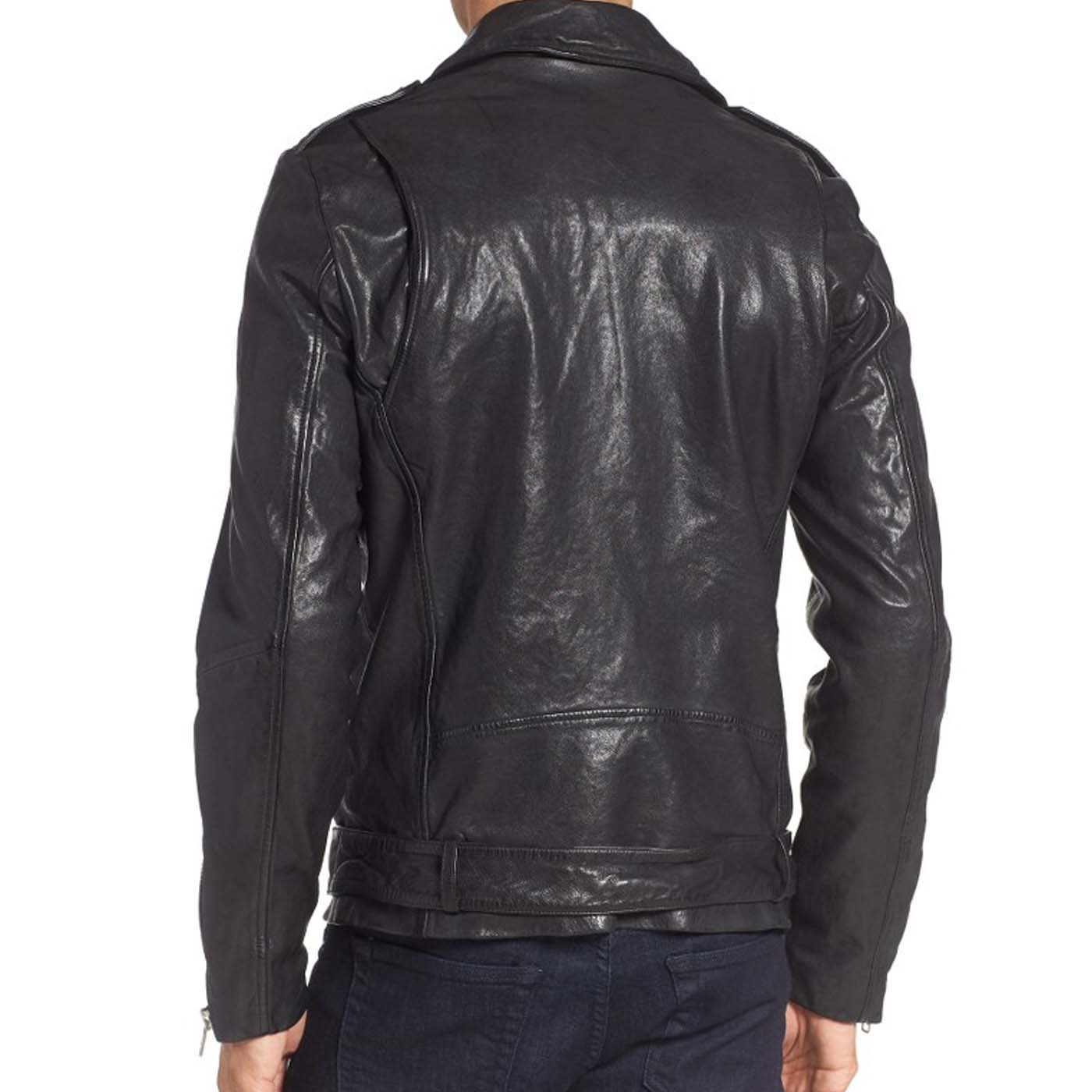 Leather Biker Jacket For Mens 3.
