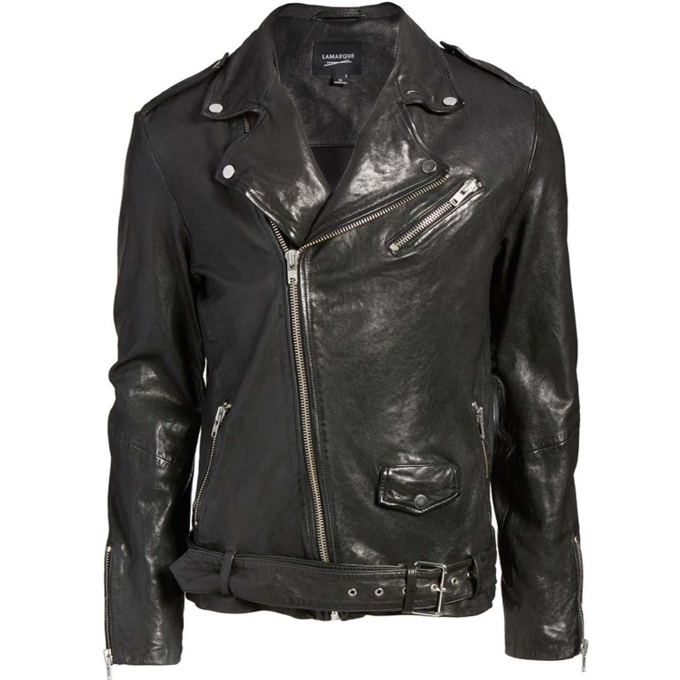 Leather Biker Jacket For Mens.