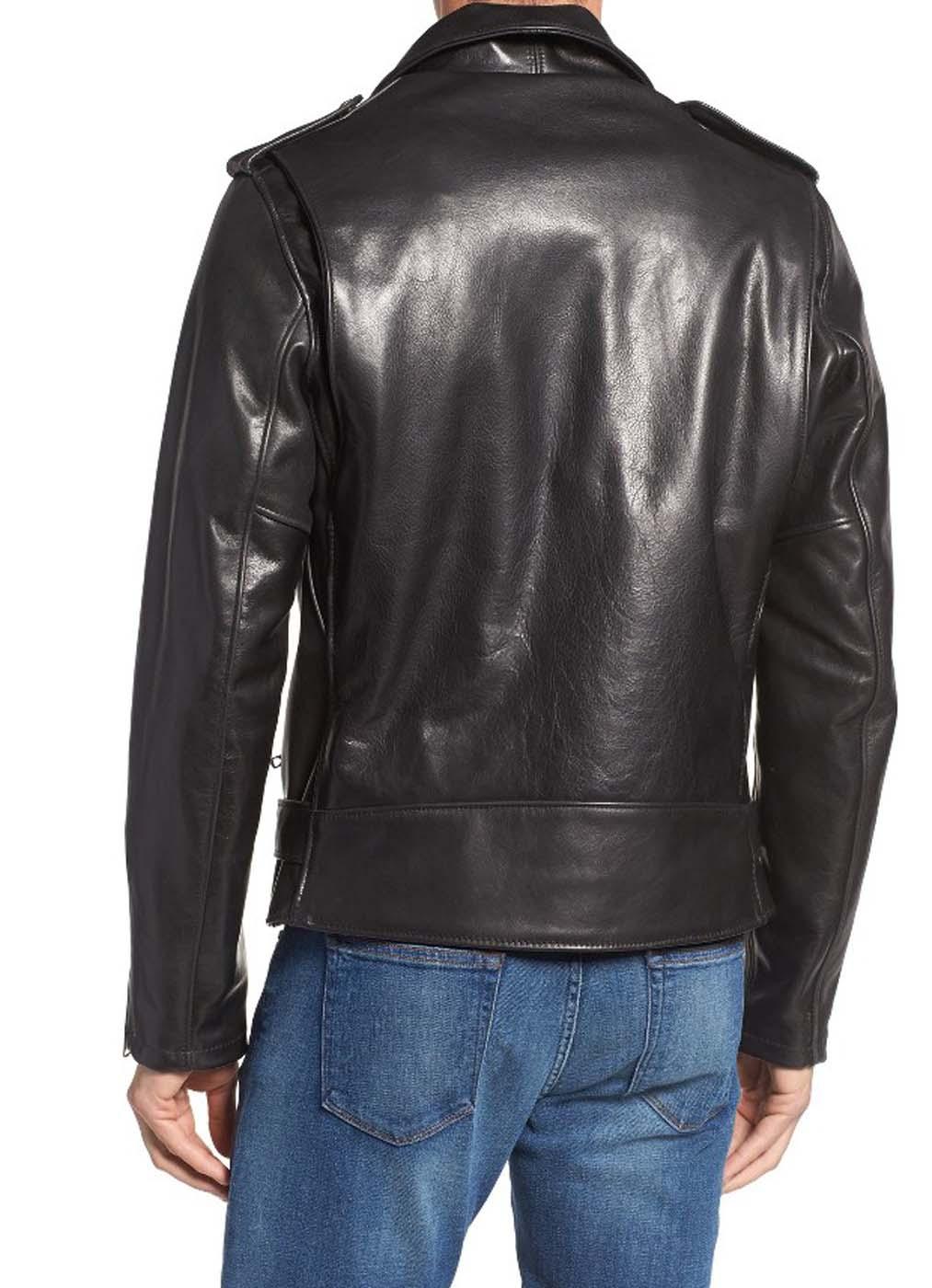 Leather Moto Jacket For Men 3..