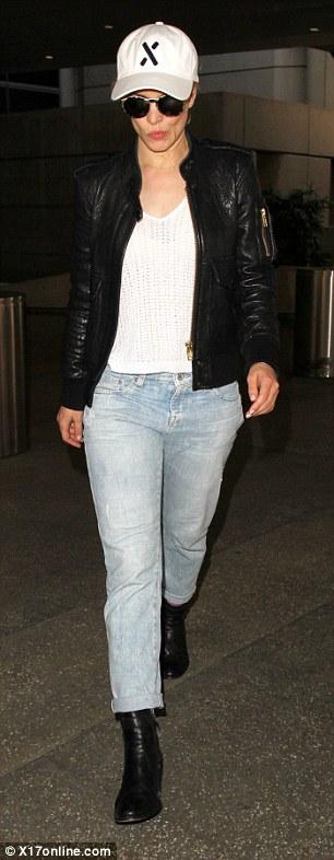 Rachel McAdams leather jacket (1)
