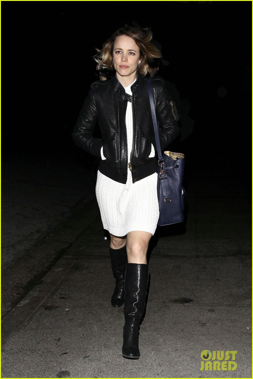 Rachel McAdams leather jacket (4)