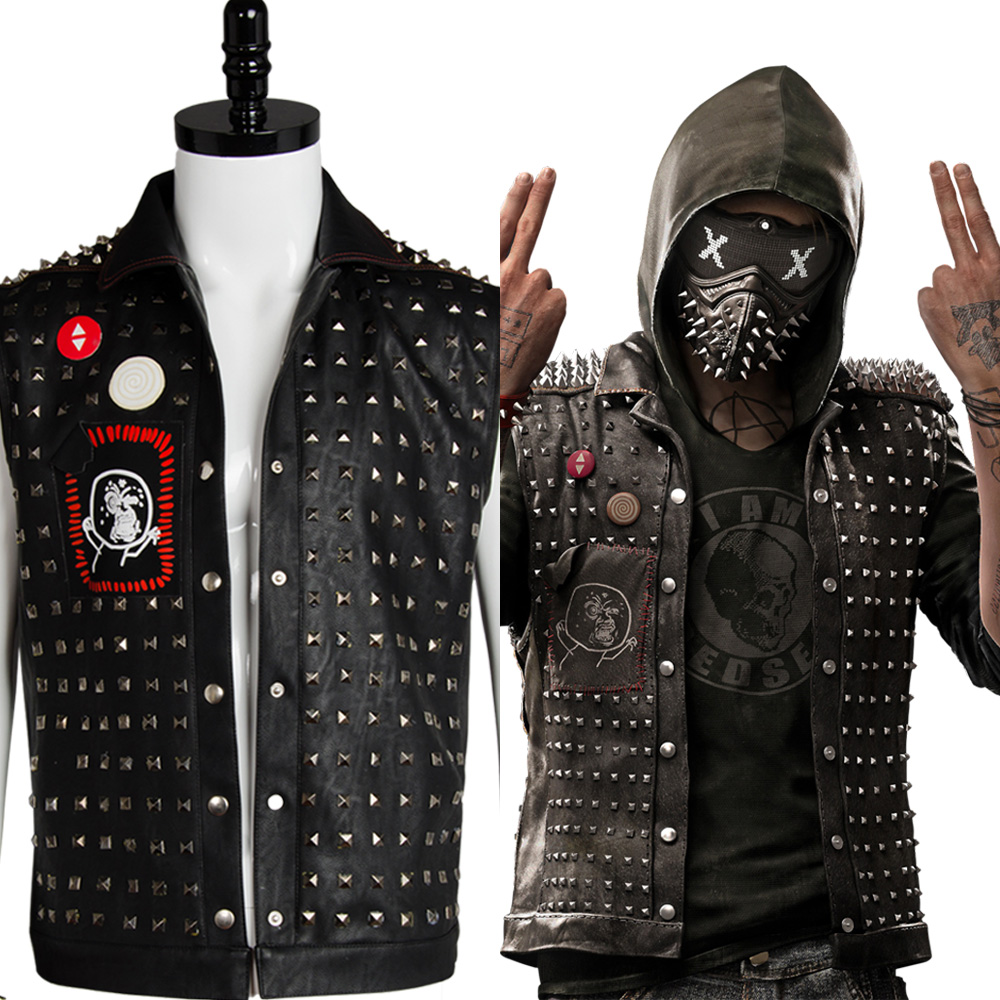 WATCH DOGS 2 WRENCH LEATHER JACKETS FOR SALE 2