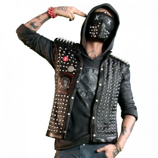 WATCH DOGS 2 WRENCH LEATHER JACKETS FOR SALE