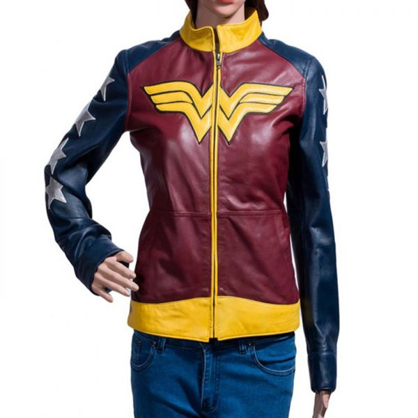Wonder Woman Leather Jacket.