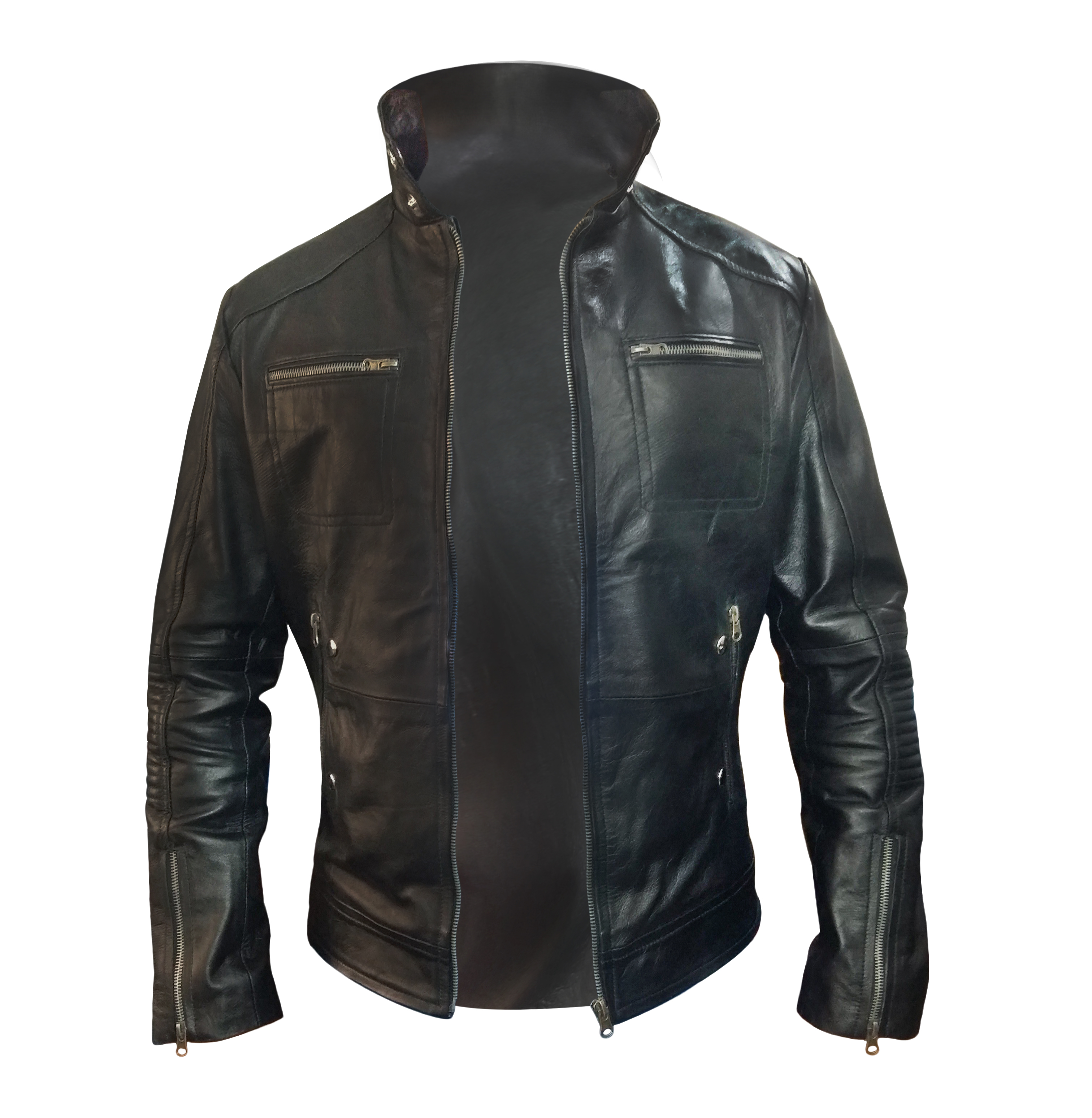 enrique iglesias black jacket front