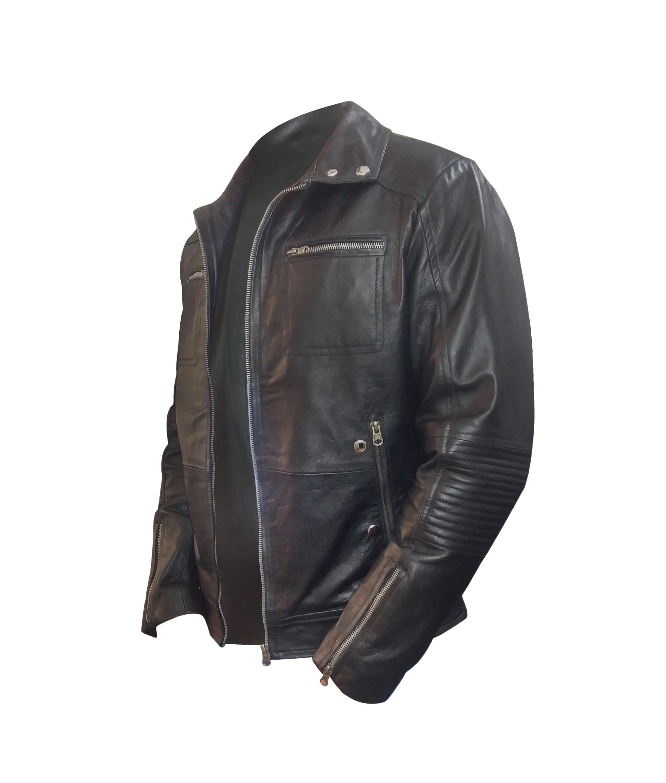 enrique iglesias black jacket side