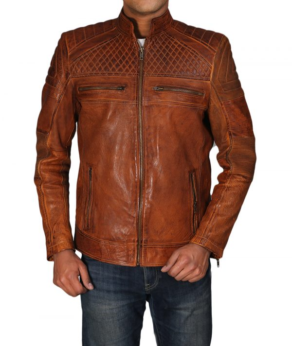 quilted jacket front