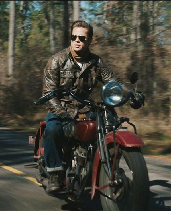 Brad Pitt Benjamin Button Biker Leather Jacket (2)