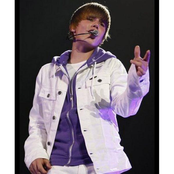 Justin Bieber White Jacket (2)