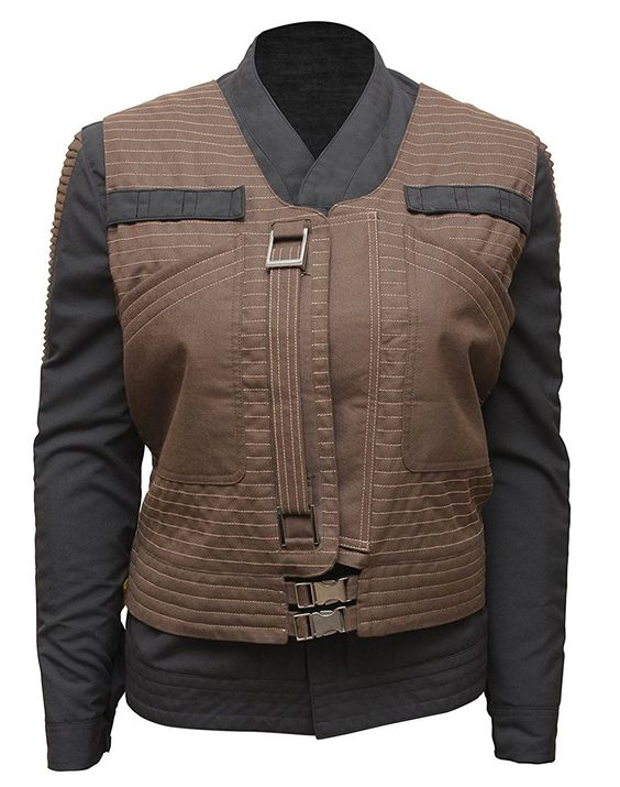Rogue One Jyn Erso Star Wars Womens Cotton Jacket (3)