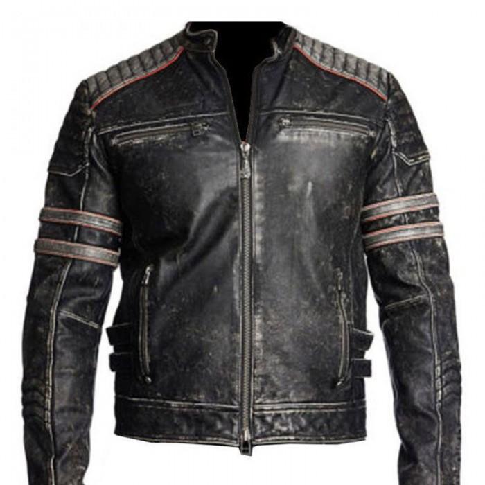 Vintage Motorcycle Distressed Black-700×700