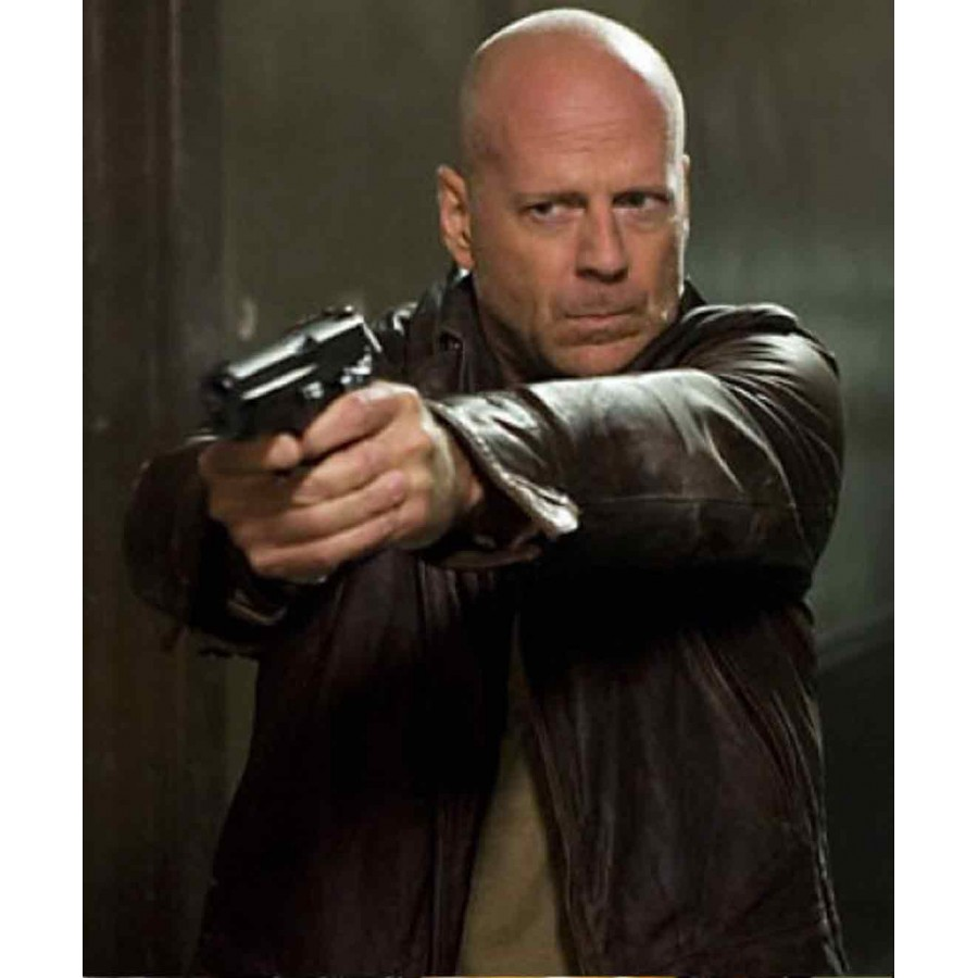 A Good Day To Die Hard 5 Bruce Willis Leather Jacket (1)