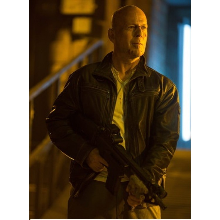 A Good Day To Die Hard 5 Bruce Willis Leather Jacket (2)