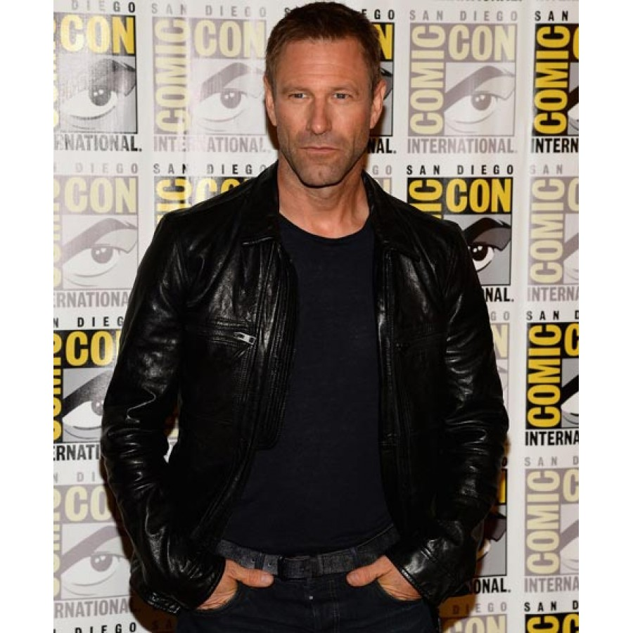 Aaron Eckhart Adam Frankenstein Leather Jacket (3)