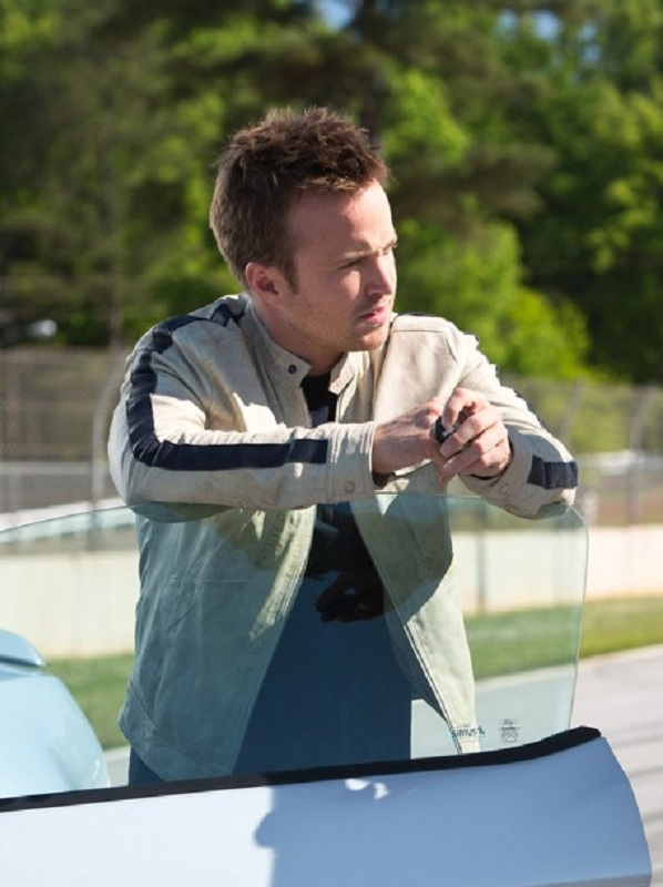 Aaron-Paul-Need-For-Speed-White-Jacket