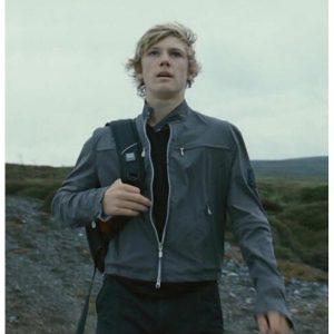 Alex Rider Stormbreaker Black Leather Jacket