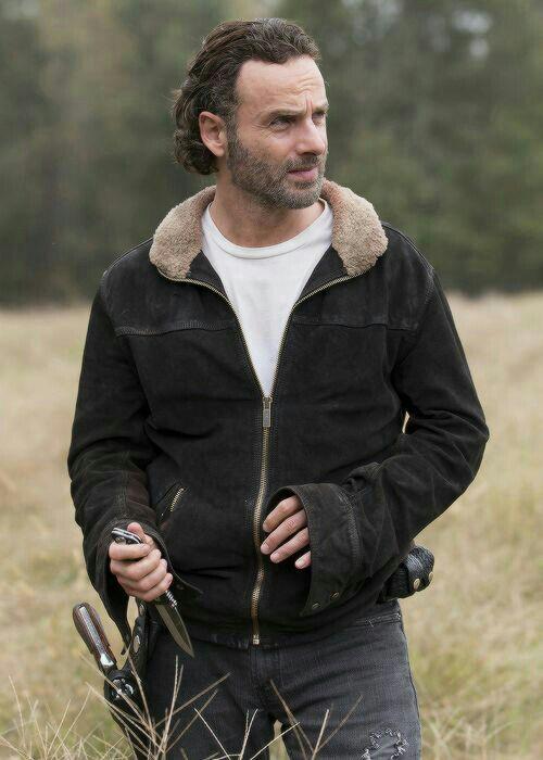 Andrew Lincoln The Walking Dead Rick Grimes Jacket Season 4 (1)