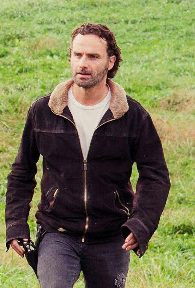 Andrew Lincoln The Walking Dead Rick Grimes Jacket Season 4 (2)