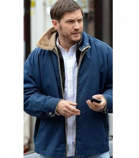 tom hardy leather jacket