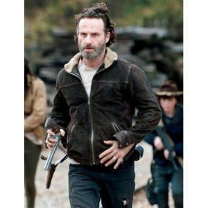 Andrew Lincoln The Walking Dead Rick Grimes Jacket Season 4 (3)