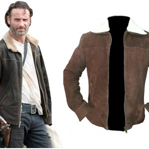 Andrew Lincoln The Walking Dead Rick Grimes Jacket Season 4 (3)