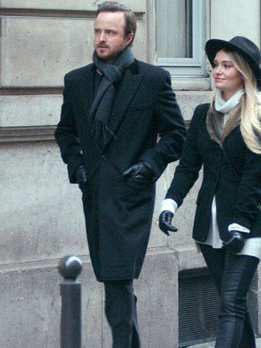 Aaron-Paul-Lauren-Parsekian-Paris-Coat