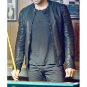 Edgar Ramirez Deliver Us From Evil Black Leather Jacket (4)