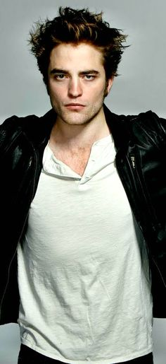 Edward Cullen Twilight Robert Pattinson Leather Jacke (1)