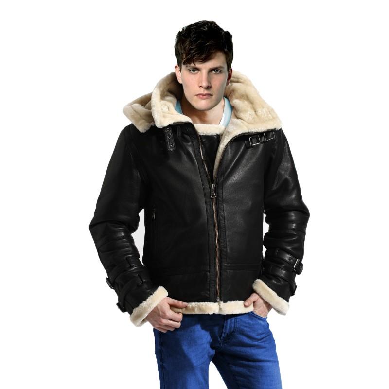 b3 bomber shearling jacket front closed-800×800