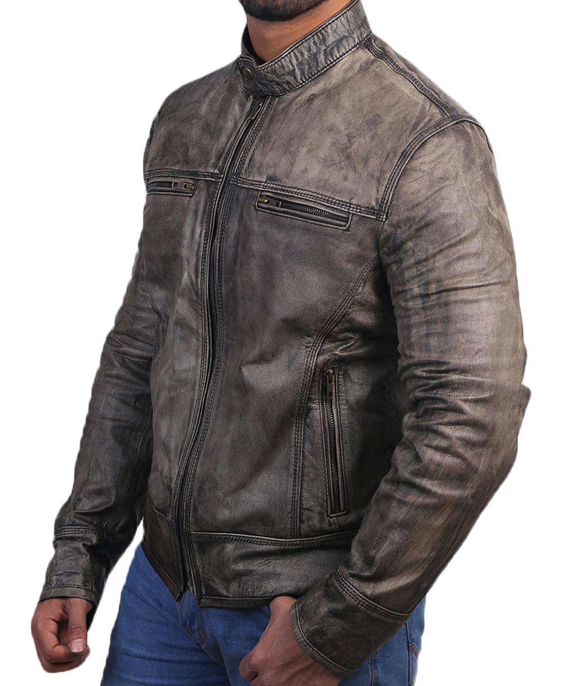 triple stitch jacket side