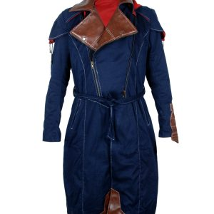 Assassin Creed Blue cotton Coat