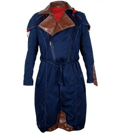 Assassin Creed Blue cotton Coat