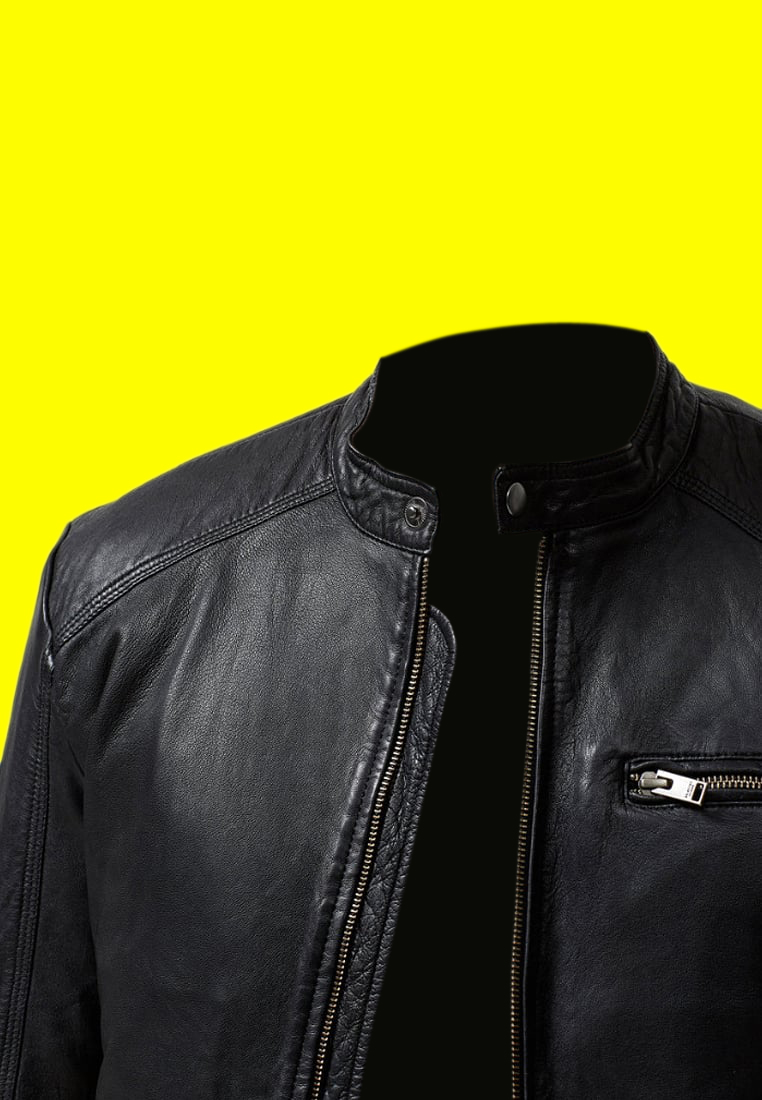 Black Leather Jacket (1)