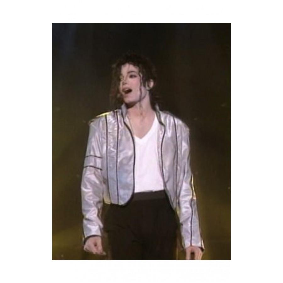 Heal The World Concert Michael Jackson Silver Jacket (2)