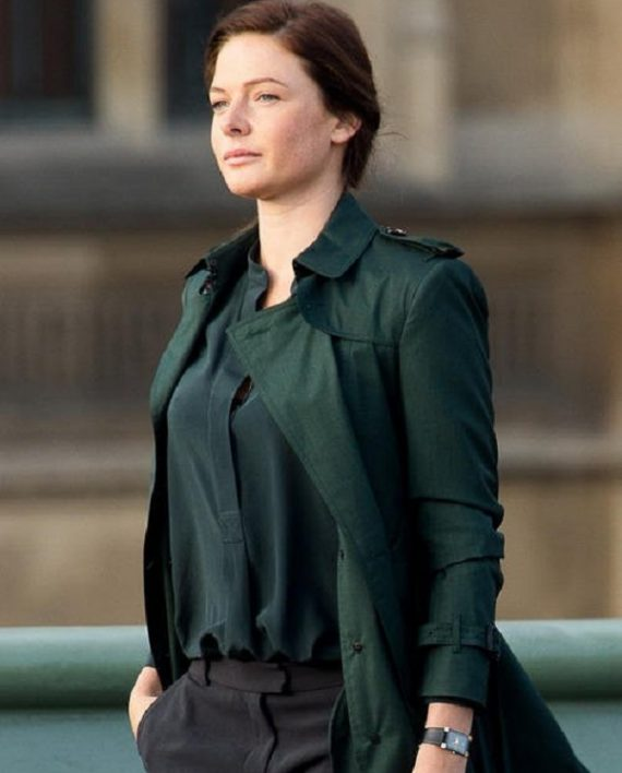 Mission Impossible 5 Rebecca Ferguson Trench Coat In UK ...