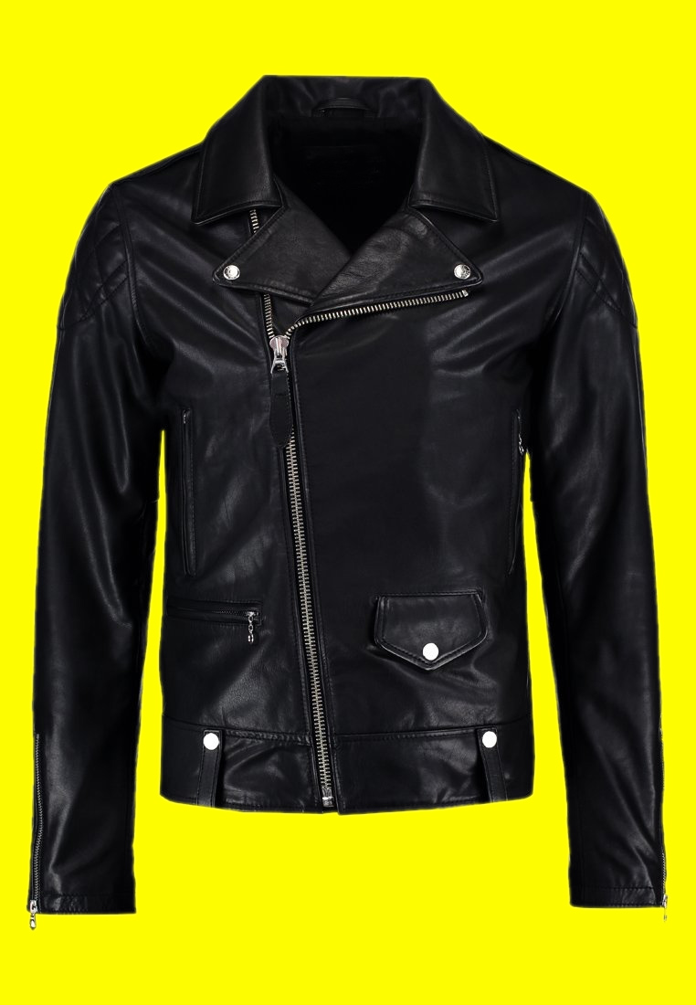 Royal Enfield Black Leather Jacket (1)