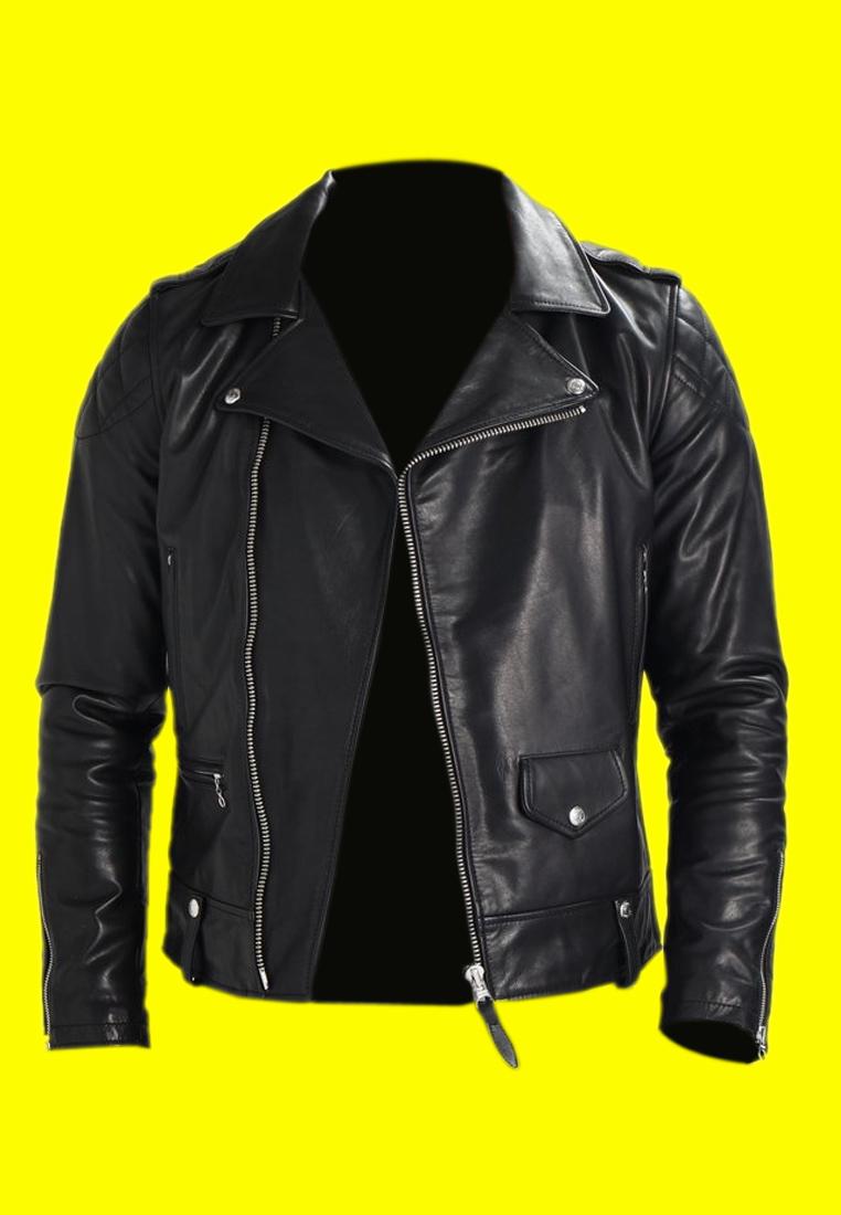 Royal Enfield Black Leather Jacket (2)