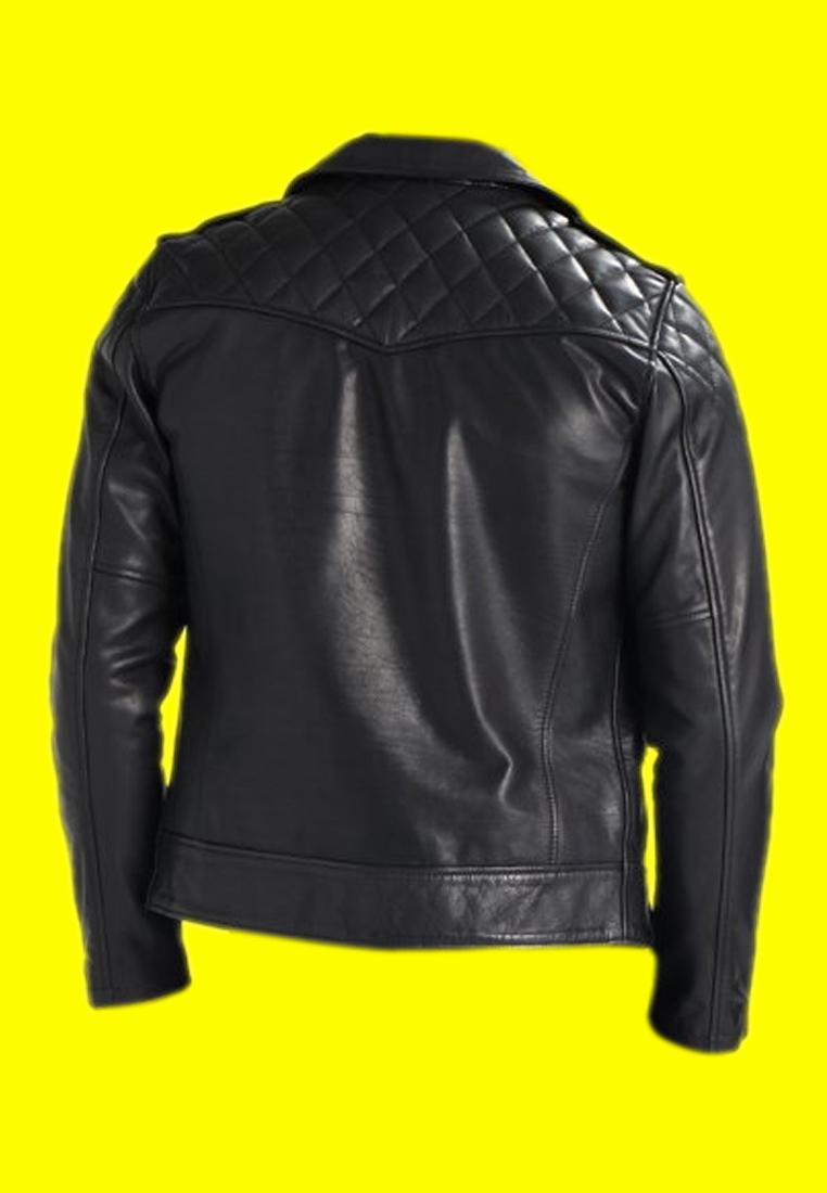 Royal Enfield Black Leather Jacket (3)