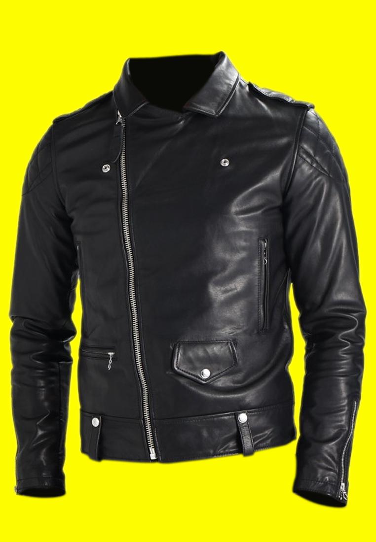 Royal Enfield Black Leather Jacket (4)