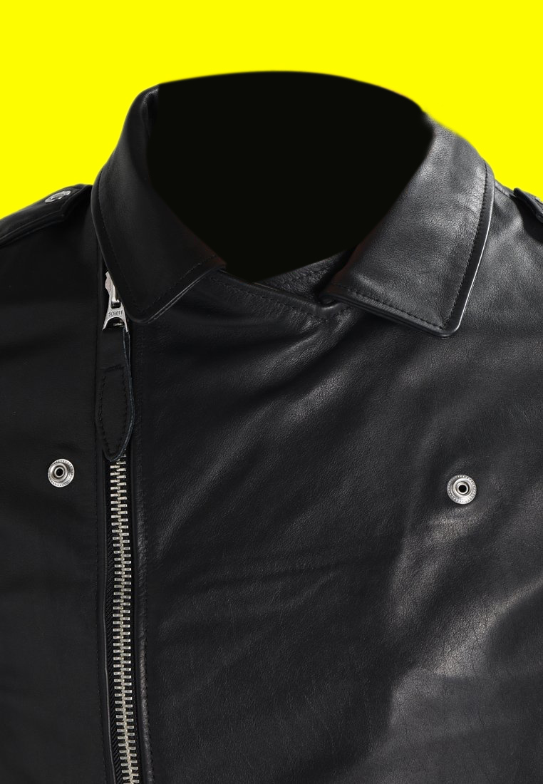Royal Enfield Black Leather Jacket (5)