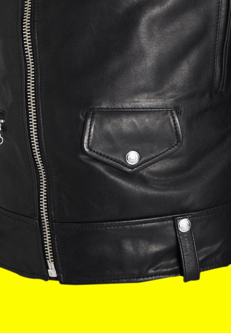 Royal Enfield Black Leather Jacket (6)