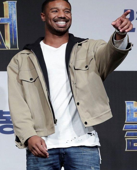 Michael B Jordan Black Panther Premiere Jacket My Blog