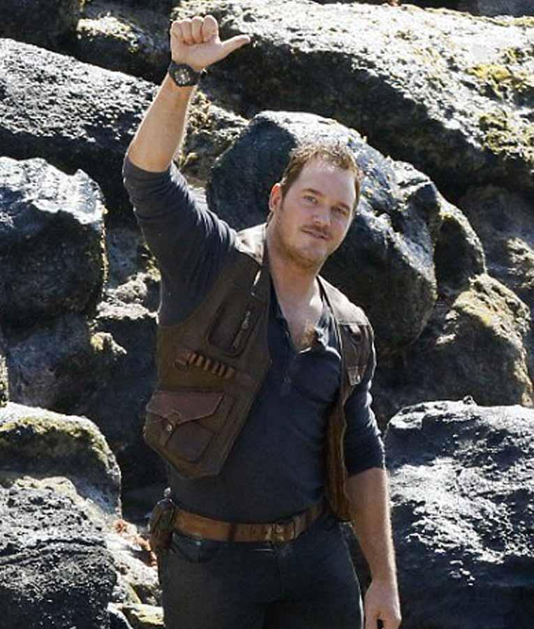 Jurassic World Fallen Kingdom Chris Pratt Vest jacket For ...