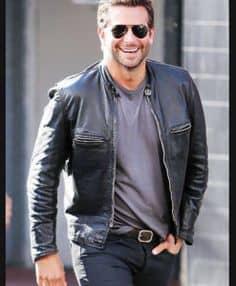 Bradley Cooper Burnt Leather Jackets