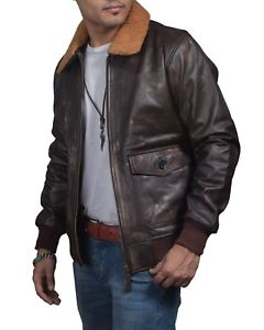 Aviator G-1 Distressed Jacket