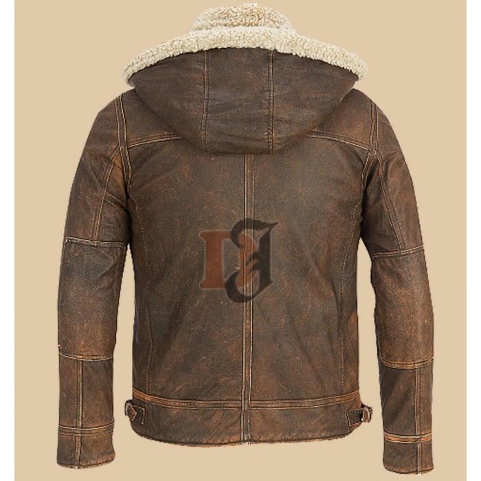 Light Brown Contrast Faux Fur Hooded Jacket2-700×700
